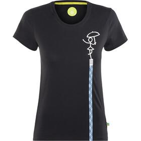 Edelrid Rope Naiset Lyhythihainen paita , musta